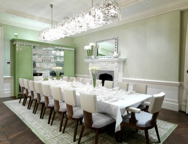 dining room design Stunning Dining Room Design Ideas by David Collins Studio 04 139 600x460