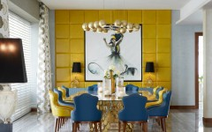 blue dining room 10 Stylish Blue Dining Room Ideas Emirates Hills villa 4 HR 240x150