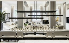 dining room ideas Beautiful Neutral Dining Room Ideas by Kelly Hoppen kelly hoppen 2 240x150