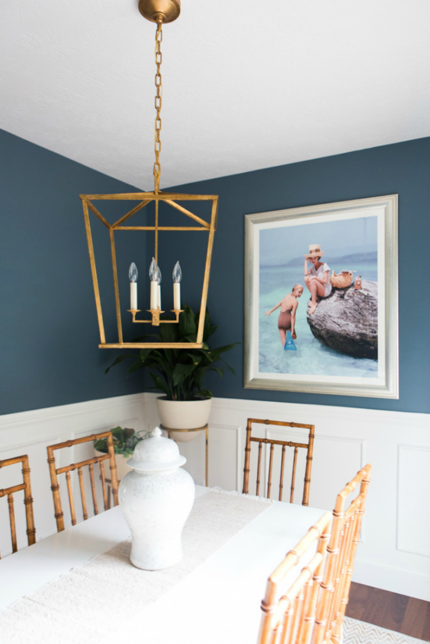 25 Ideas To Add Blue To Your Dining Room Decor
