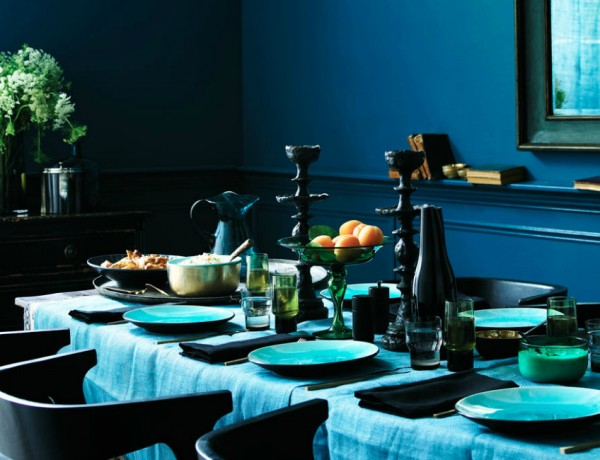 25 Ideas To Add Blue To Your Dining Room Decor dining room decor 25 Dreamy Ideas To Add Blue To Your Dining Room Decor 25 Ideas To Add Blue To Your Dining Room Decor 25 1 600x460