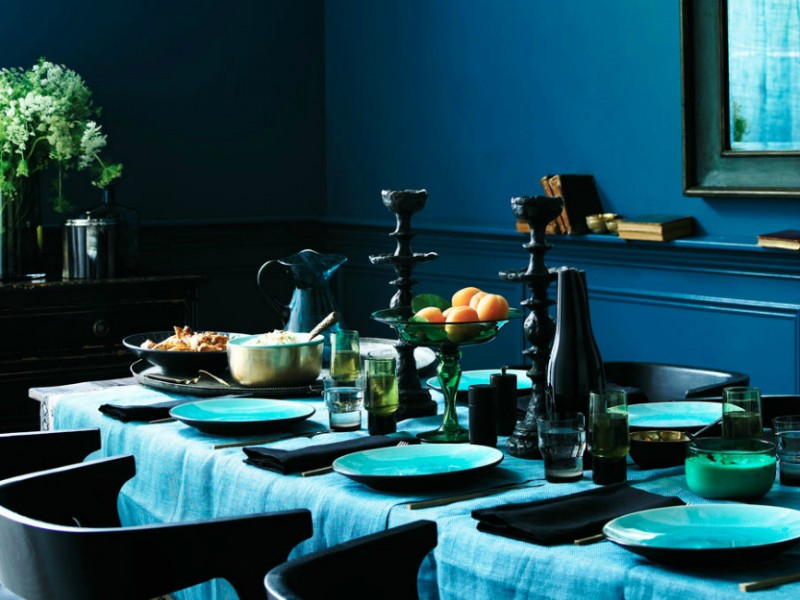 25 Ideas To Add Blue To Your Dining Room Decor dining room decor 25 Dreamy Ideas To Add Blue To Your Dining Room Decor 25 Ideas To Add Blue To Your Dining Room Decor 25 1 800x600