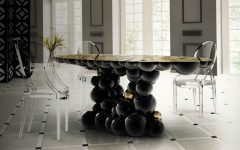 7 Ways A Black Dining Room Table Will Spruce Up Your Space dining room table 10 Ways A Black Dining Room Table Will Spruce Up Your Space 7 Ways A Black Dining Room Table Will Spruce Up Your Space 240x150