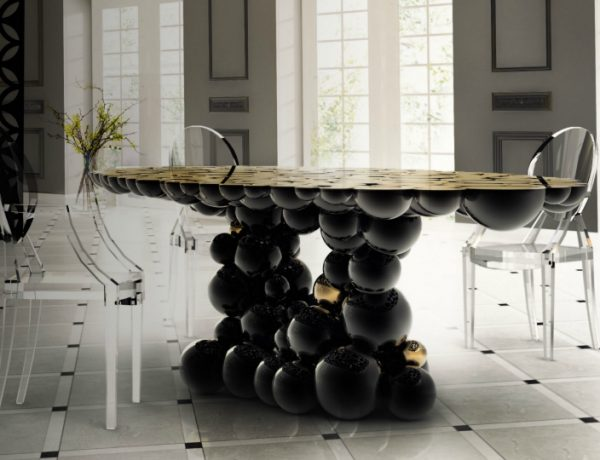7 Ways A Black Dining Room Table Will Spruce Up Your Space dining room table 10 Ways A Black Dining Room Table Will Spruce Up Your Space 7 Ways A Black Dining Room Table Will Spruce Up Your Space 600x460