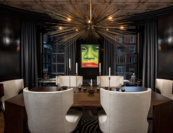 Modern Dining Room Inspiration by DMID
