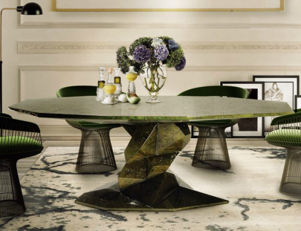 5 Original Ways to Decorate Your Dining Room Sets with Green dining room sets 5 Original Ways To Decorate Your Dining Room Sets With Green 5 Original Ways to Decorate Your Dining Room Sets with Green 600x460