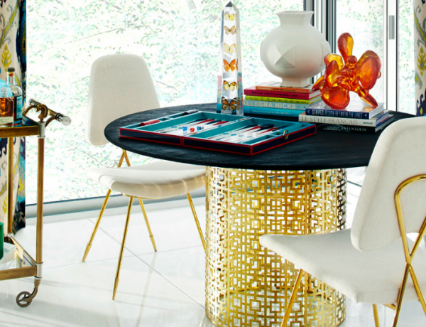 10 Fantastic Dining Room Sets By Jonathan Adler That You Will Love dining room sets 10 Fantastic Dining Room Sets By Jonathan Adler That You Will Love 10 Fantastic Dining Room Sets By Jonathan Adler That You Will Love 600x460