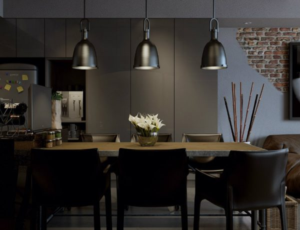 dining room design 7 Dark & Moody Dining Room Design Ideas Worth Copying feat 1 600x460