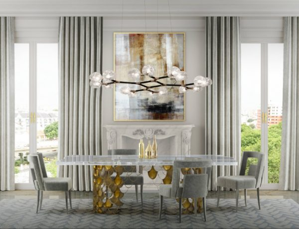 rectangular dining tables 9 Rectangular Dining Tables That Steal The Show feat3 1 600x460