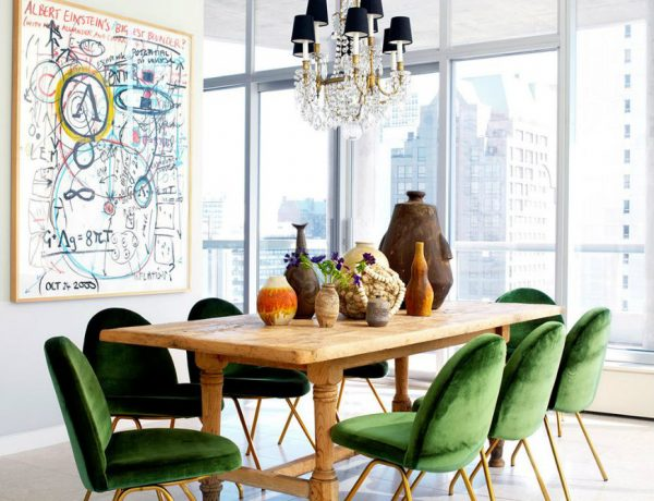 velvet chairs Most Wonderful Velvet Chairs for Your Modern Dining Room featketv 600x460