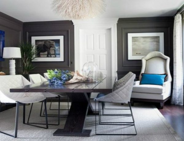 modern dining room Latest Trend Colors for Modern Dining Room in 2019 c 6 600x460