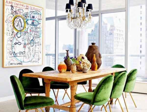dining room Inspiration: Fabulous Dining Room Ideas dining room decorating ideas by nate berkus 6 600x460