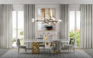 dining room STUNNING Dining Rooms Tables from Brabbu for Your Next Dining Room Project brabbu ambience press 109 HR 2 300x187