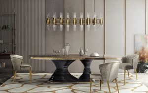 dining room STUNNING Dining Rooms Tables from Brabbu for Your Next Dining Room Project nuka dining chairs grey 300x189