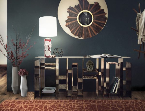 dining room Dining Room Inspiration: Beautiful Mirrors as Decoration IRIS Mirror Official 600x460