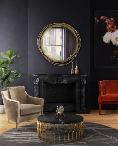 dining room Dining Room Inspiration: Beautiful Mirrors as Decoration Kayan Mirror 243x300