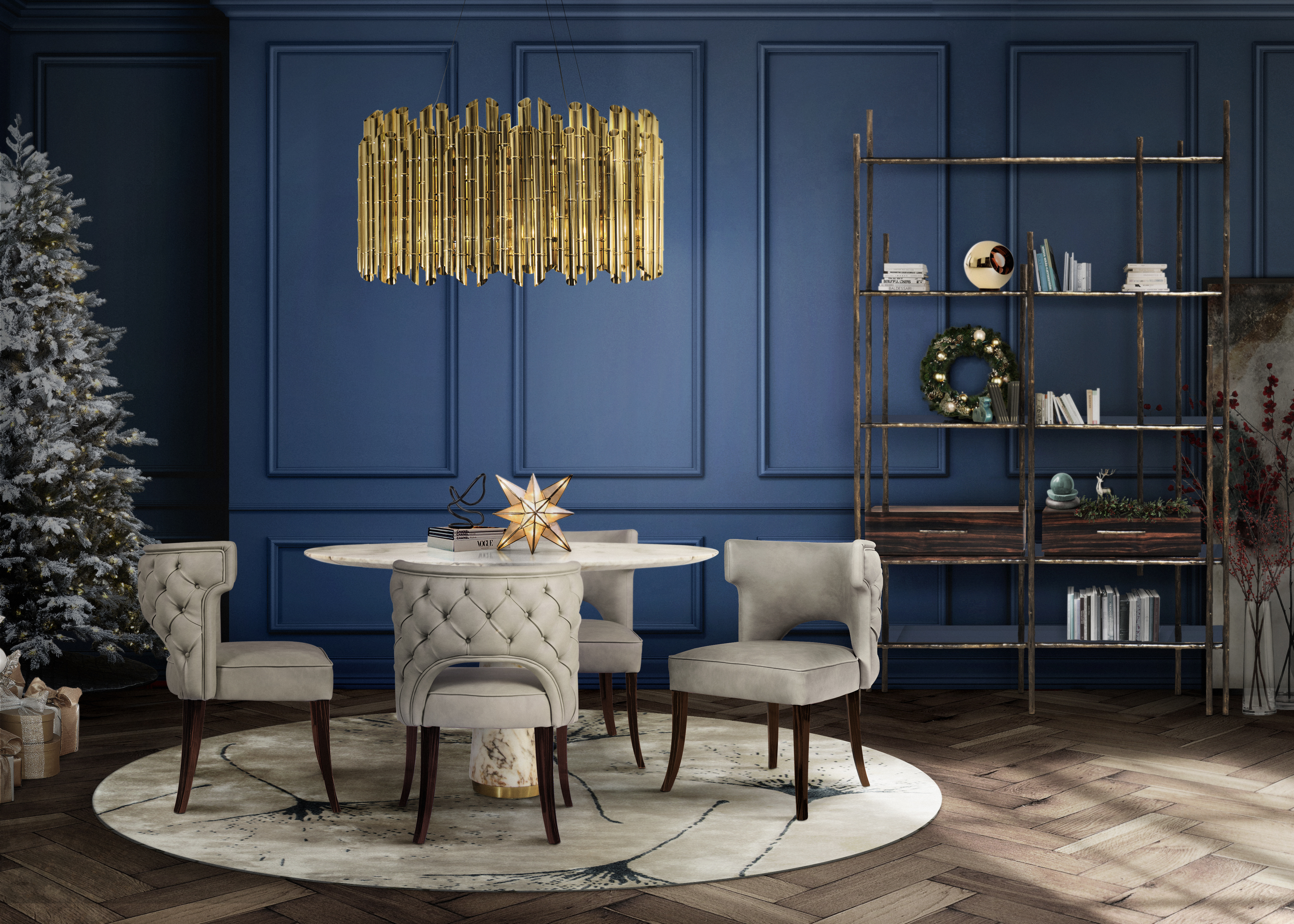 dining room Ideas To Take Your Dining Room to the Next Level winter trend 2
