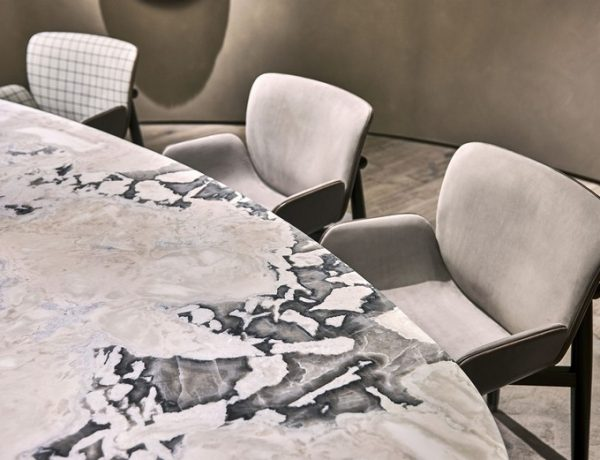 marble dining room table dining room table Marble Dining Room Table // Our Ideas For an Elegant Décor Baxter IMMCologne20 10 R 600x460