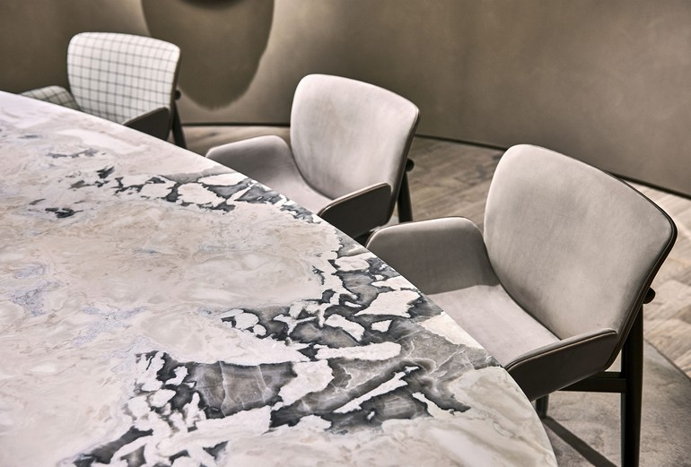 marble dining room table dining room table Marble Dining Room Table // Our Ideas For an Elegant Décor Baxter IMMCologne20 10 R