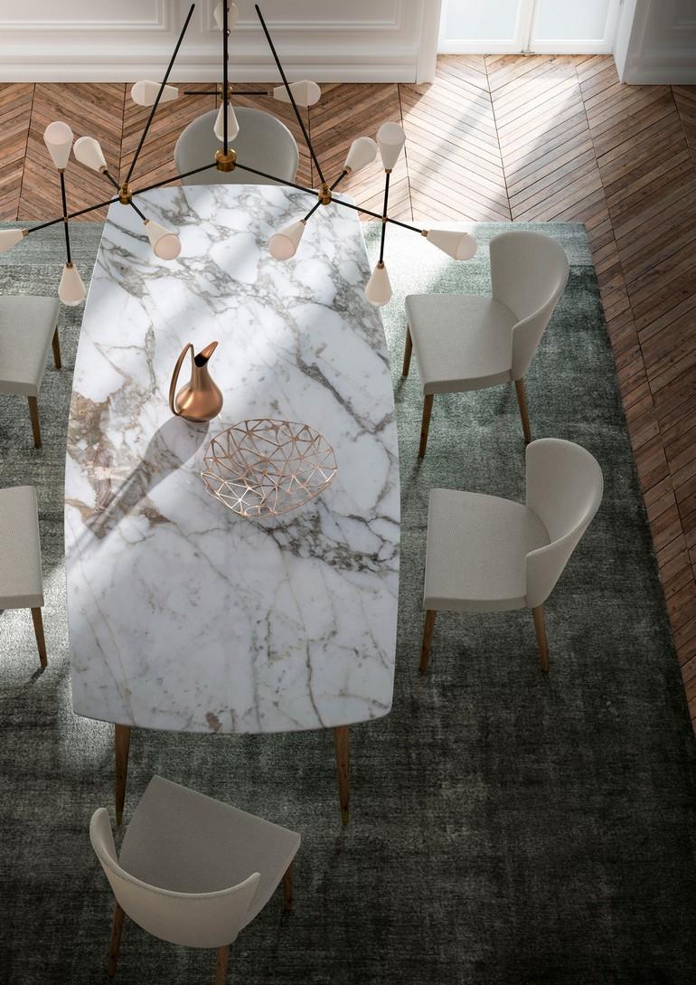 marble dining room table dining room table Marble Dining Room Table // Our Ideas For an Elegant Décor Tavolo madia det CShading LightMix