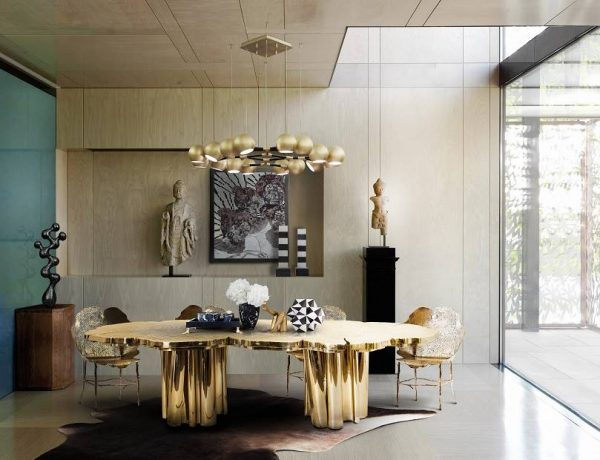 best dining room furniture Don't Miss Best Dining Room Furniture 2020| Salone del Mobile Milan cenario 1 600x460